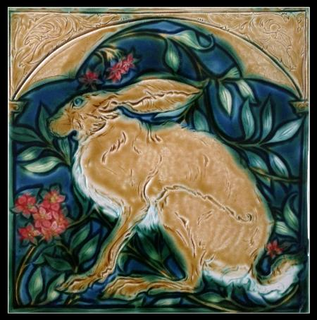 Medieval Hare by Mary Philpott Copyright